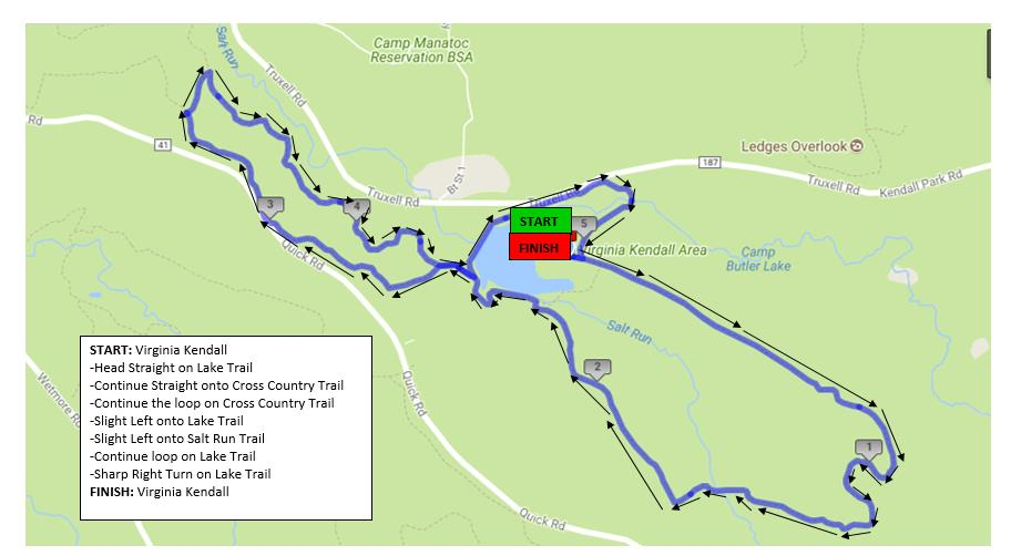 Course Info & Maps - Full Moon Trail Series